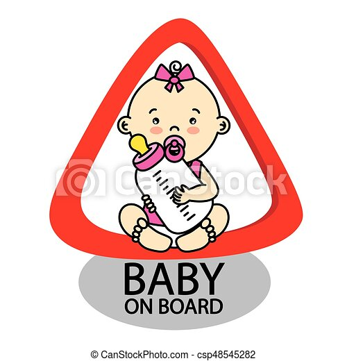 Baby on Board Sign - csp48545282