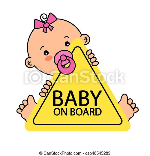 Baby on Board Sign - csp48545283