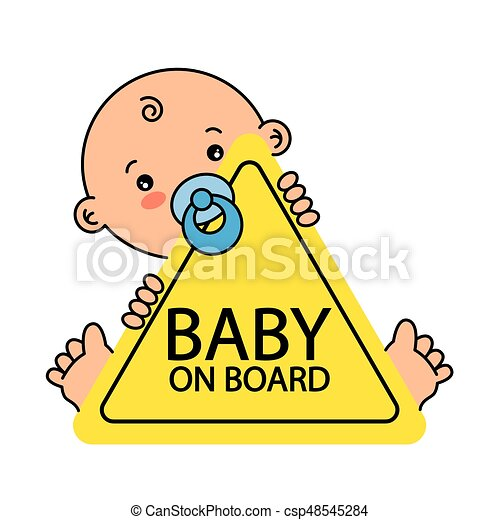 Baby on Board Sign - csp48545284