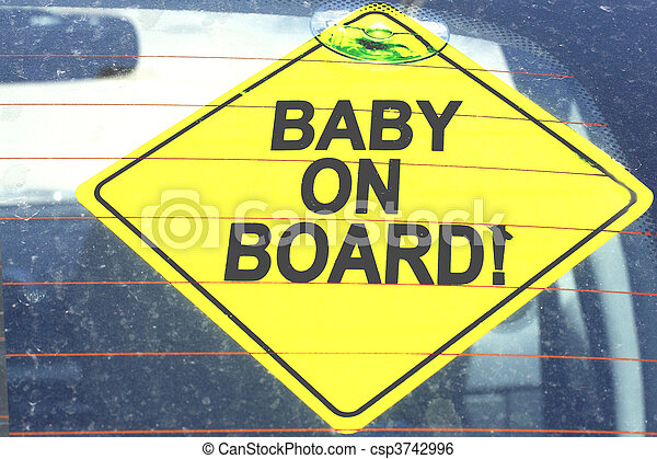 Baby on board - csp3742996