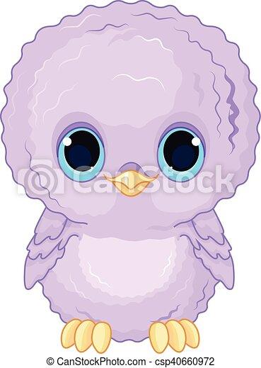 Baby Owl - csp40660972