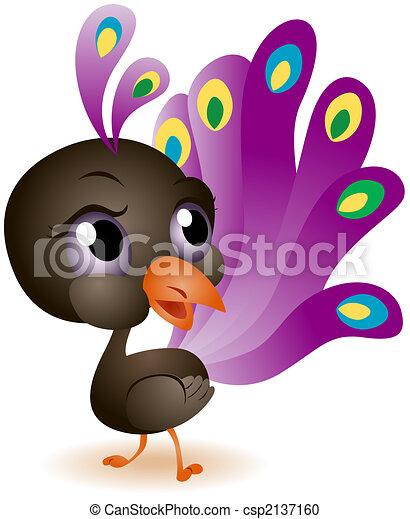 Baby Peacock - csp2137160
