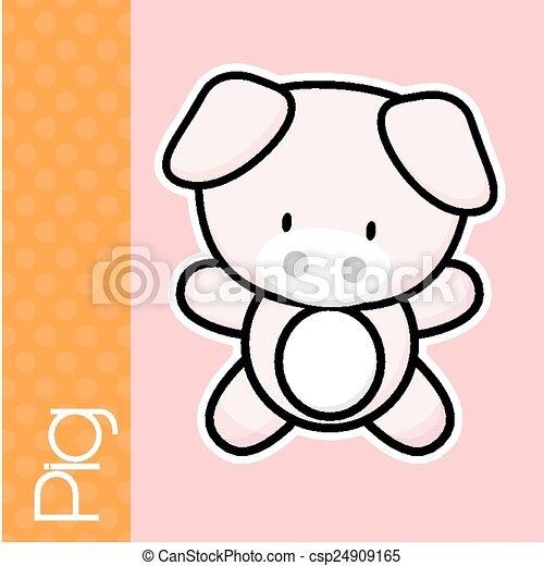 baby pig - csp24909165
