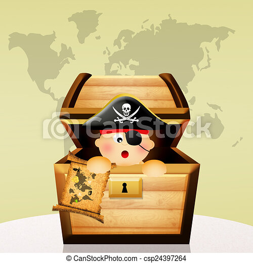 Pirate baby clip art   Etsy