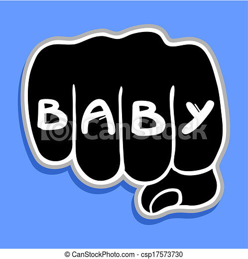 Baby punch - csp17573730