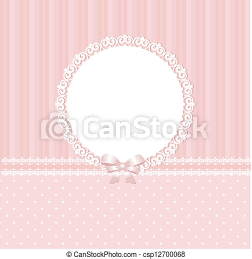 baby, rosafarbener hintergrund - csp12700068