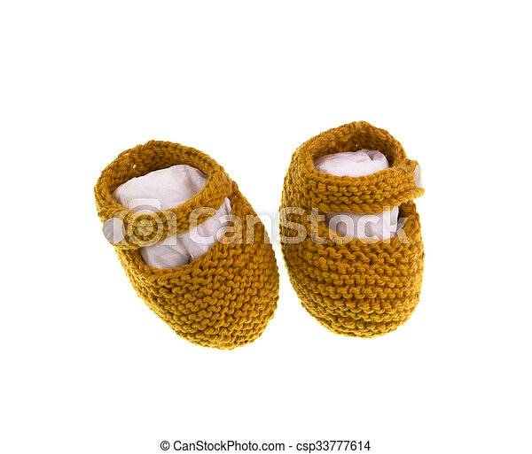 Baby Shoes - csp33777614