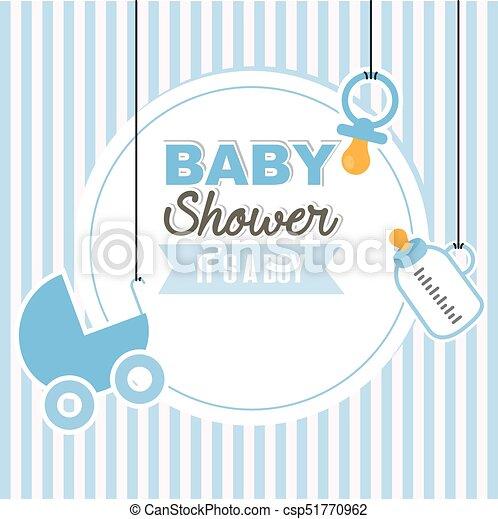 baby shower boy - csp51770962