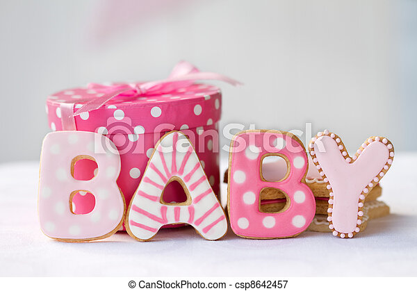 Baby Shower Cookies Cookies Decorated For A Baby Girl Picture