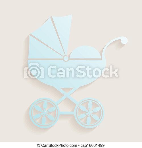 Baby shower design - csp16601499