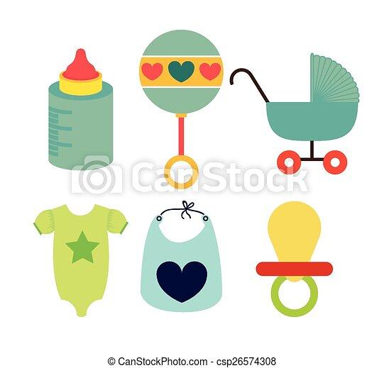 Baby shower design  - csp26574308