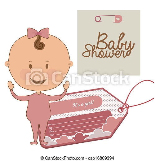 baby shower - csp16809394