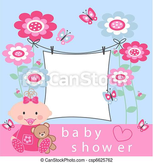 baby shower - csp6625762