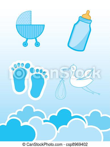 baby shower  - csp8969402