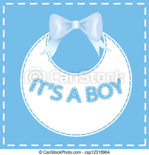 Baby shower invitation card. - csp12318964