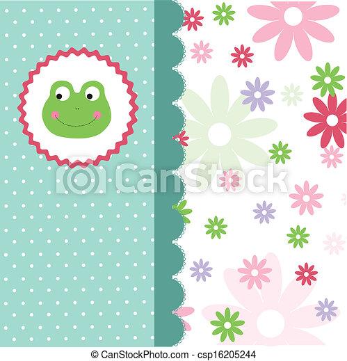 Baby Shower Invitation - csp16205244