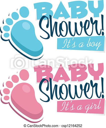 Baby shower invitations baby shower invitation with baby clipart baby shower invitations csp12164252 stopboris Choice Image