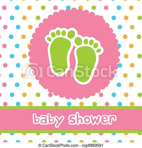 baby shower - csp8969591