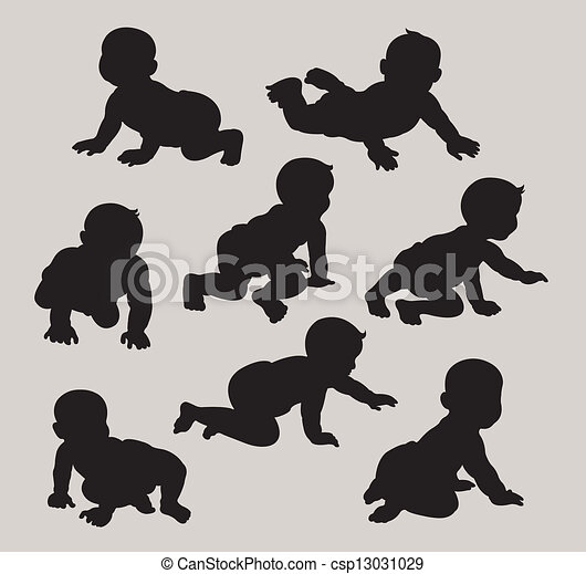 Baby Silhouettes - csp13031029