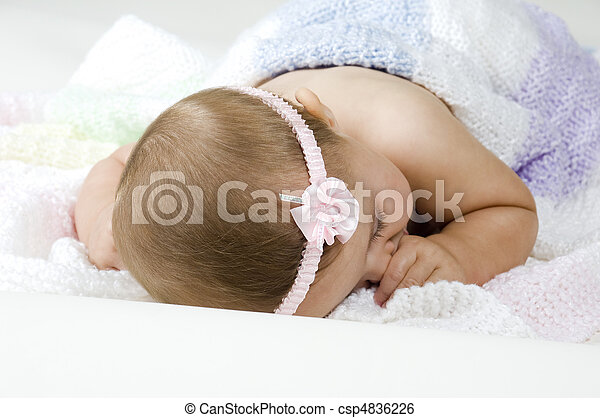 Baby Sleeping - csp4836226