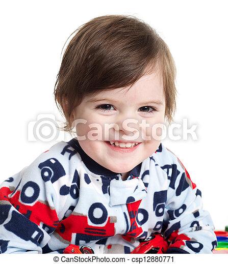 Baby Smiling - csp12880771