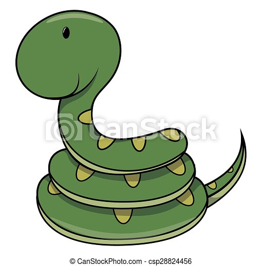 Baby snake - csp28824456