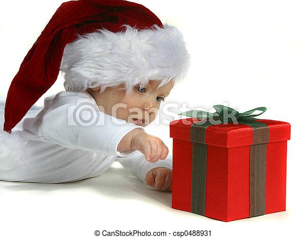 Baby Ssanta - csp0488931