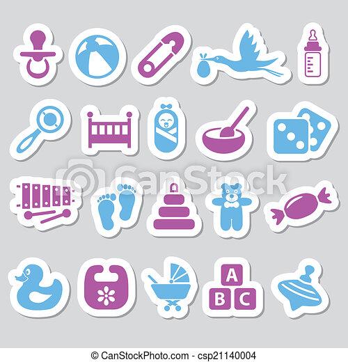 baby stickers - csp21140004