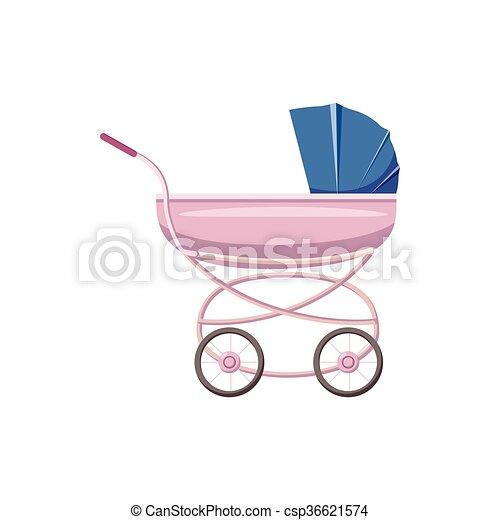 baby carriage cartoon