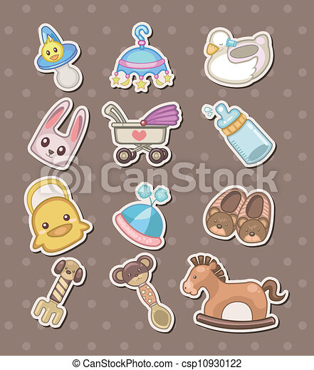 baby stuff stickers vector illustration search clipart drawings rh canstockphoto com baby stuff clipart png free baby stuff clipart