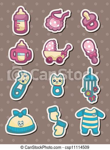 Baby stuff stickers csp11114509