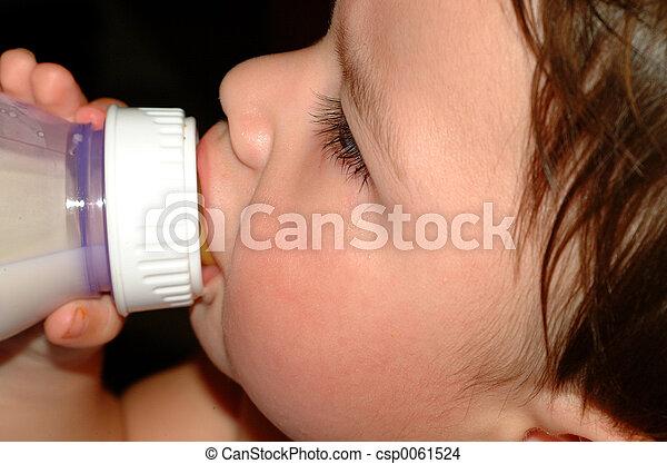Baby-Sucking bottle - csp0061524