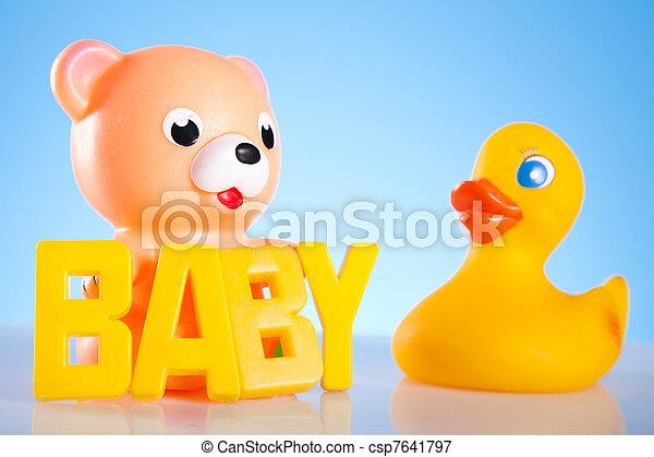 Baby toys - csp7641797