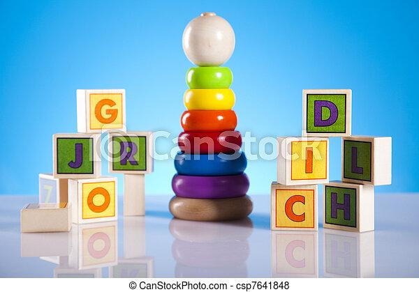 Baby toys - csp7641848