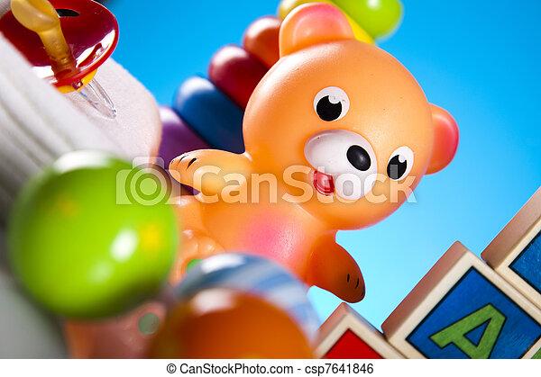 Baby toys - csp7641846