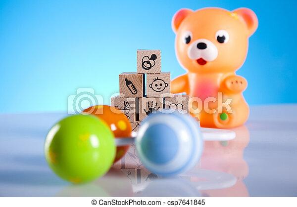 Baby toys - csp7641845