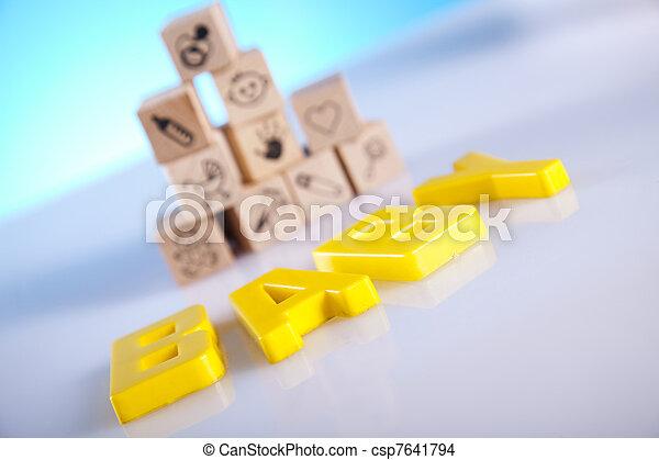 Baby toys - csp7641794