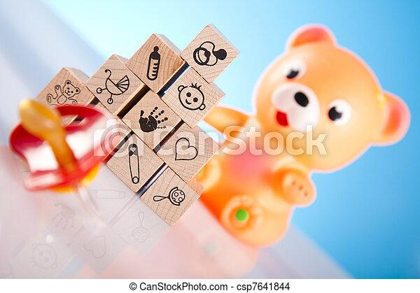 Baby toys - csp7641844