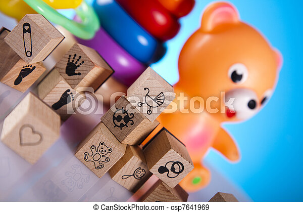 Baby toys - csp7641969