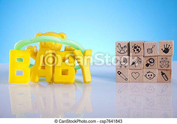 Baby toys - csp7641843