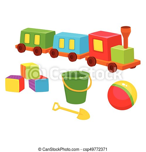 Baby Toys Train Blocks Ball Bucket Shovel First Baby Toys