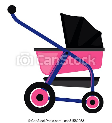 baby trolley in pink and purple illustration clipart vector search rh canstockphoto ca shopping trolley clipart trolley clipart png