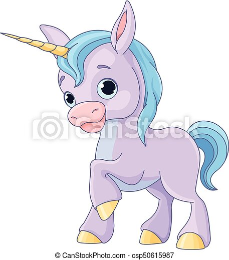 Baby Unicorn - csp50615987