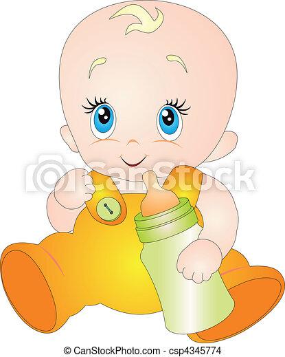 Baby vector - csp4345774