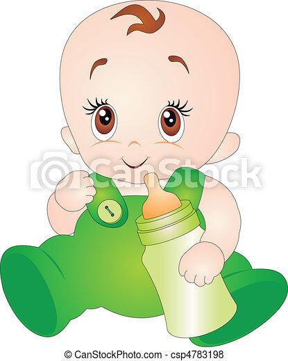 Baby vector - csp4783198