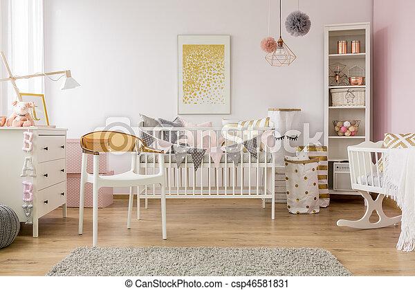 Stoel Voor Op Slaapkamer.Baby Witte Stoel Slaapkamer Slaapkamer Kleermaker Boekenkast