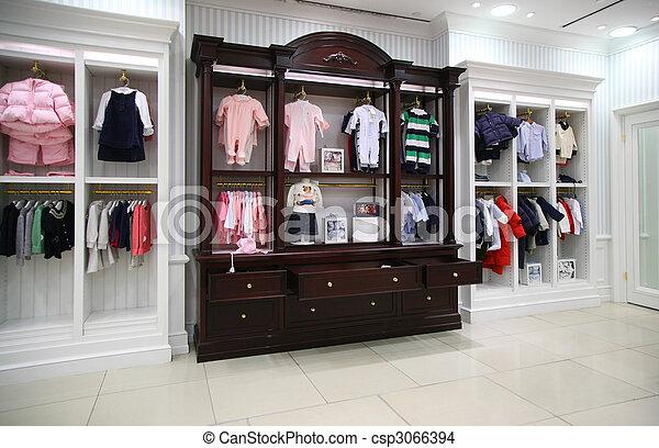 Babyish clothing department - csp3066394