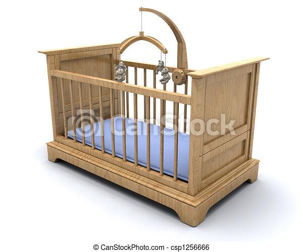 Baby\\\'s cot - csp1256666
