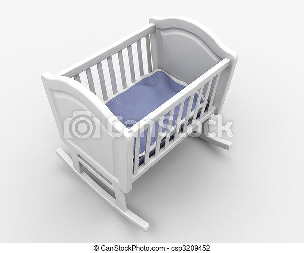 Baby\'s crib - csp3209452