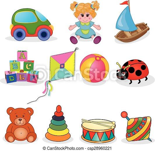 Baby's toys set - csp28960221